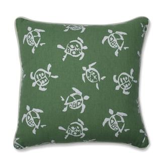 Sea Turtles Verte Throw Pillow