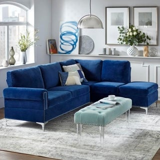Simple Living Orinda Sectional Sofa