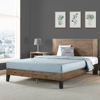 Carbon Loft Sollano Pine Wood Platform Bed