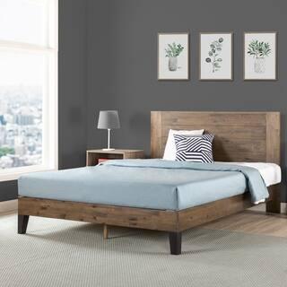 Carbon Loft Sollano Pine Wood Platform Bed