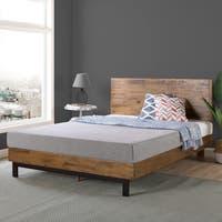 Priage by Zinus Wood Platform Bed
