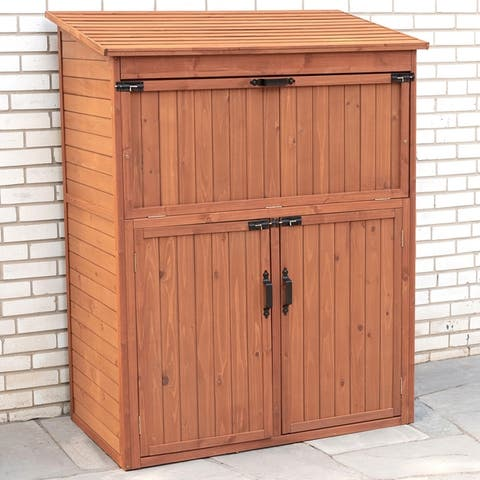 Storage Cabinet with Drop Table