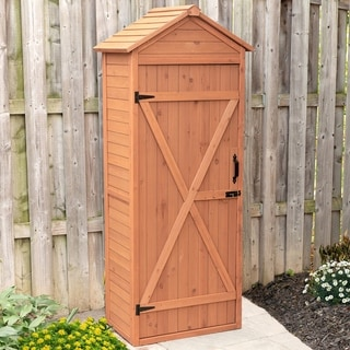 Vertical Shed with Drop Table