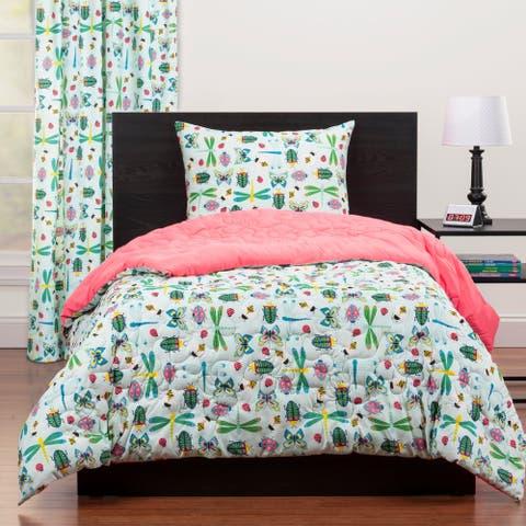 Highlights Snug As A Bug Full/Queen Reversible Comforter Set