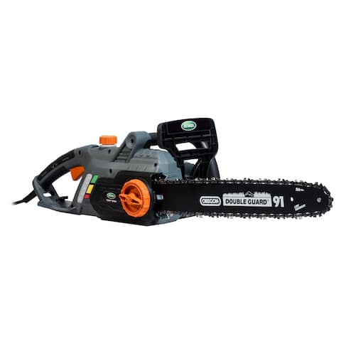 Scotts 16- Inch Corded Chain Saw - Black/Silver