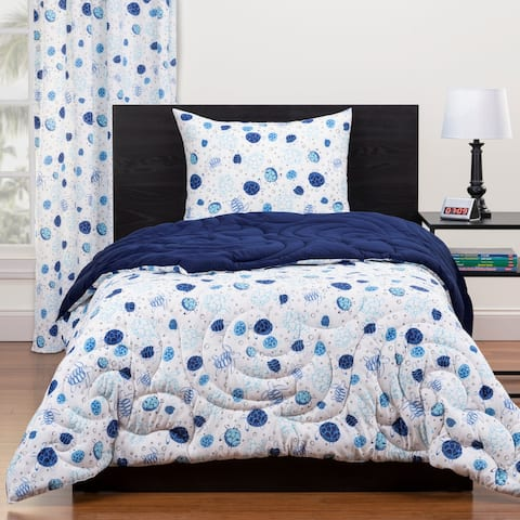 Highlights Turtle Time Full/Queen Reversible Comforter Set