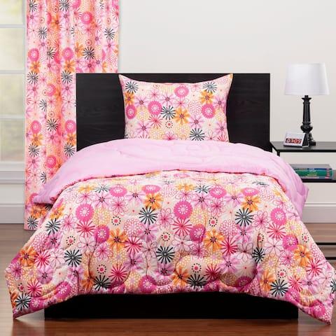 Highlights The Bloom Room Full/Queen Reversible Comforter Set