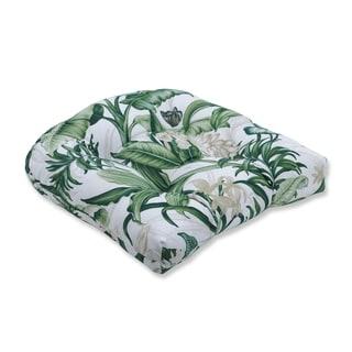 Wailea Coast Verte Wicker Seat Cushion