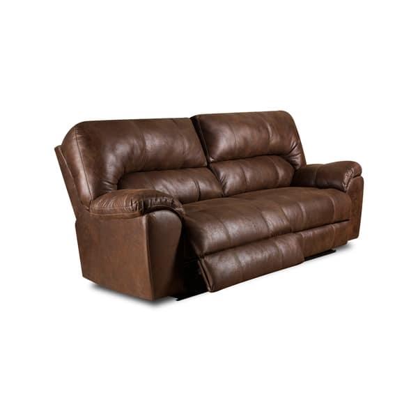 Wondrous Beaumont Faux Leather Reclining Sofa Manual Power Evergreenethics Interior Chair Design Evergreenethicsorg