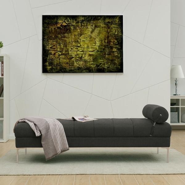 Strick & Bolton Sian Twin-size Upholstered Velvet Bench