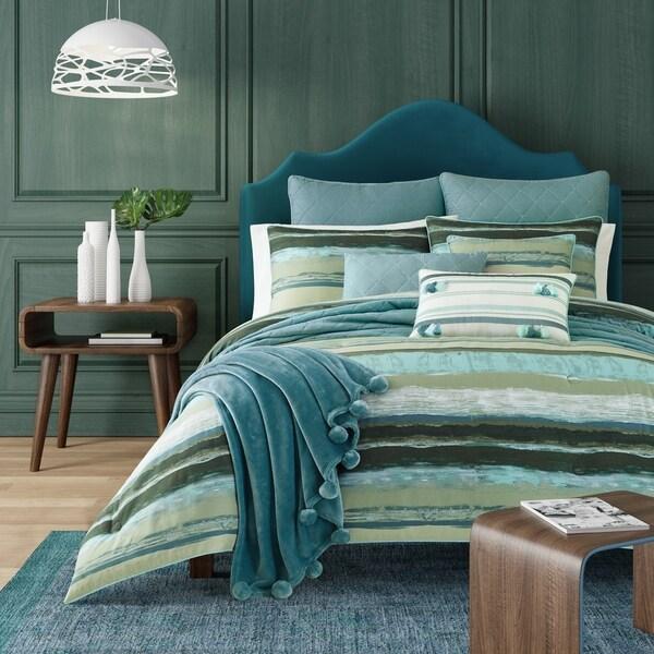 Five Queens Court Cameron Forest Cotton Comforter Set