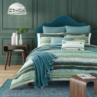 Porch & Den Caden Green Cotton Comforter Set