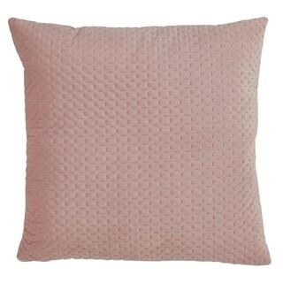 Saro Lifestyle Pinsonic Poly Filled Velvet Throw Pillow