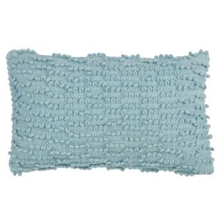 Nubby Design Cotton Down-filled Throw Pillow