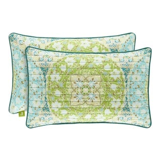 Porch & Den Bany Quilted Boudoir Pillow