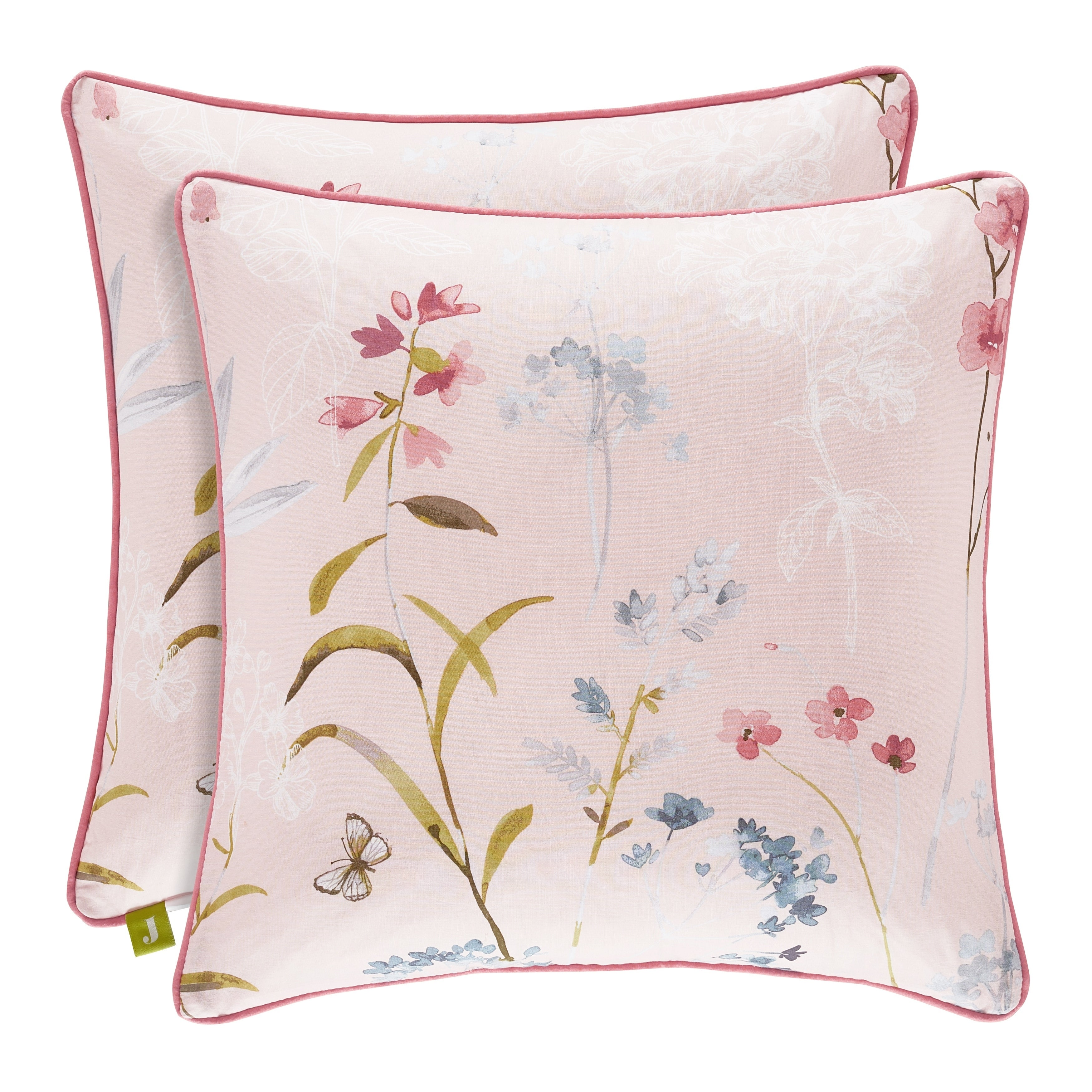 Five Queens Court Blakely 18 Inch Square Throw Pillow Overstock 26856483