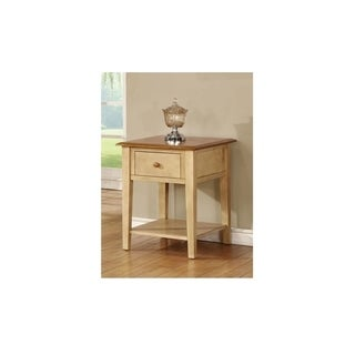 Tolliver Two-tone 1-drawer End Table