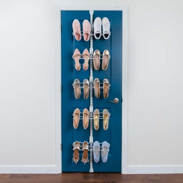 Organized Living Over the Door Shoe Kit - Premium