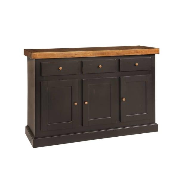 Vaughn Harvest and Black 3-drawer Server
