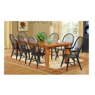 Avon Wood Tone Extendable Dining Table