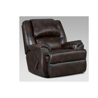 Brahma Upholstered Chaise Rocker Recliner