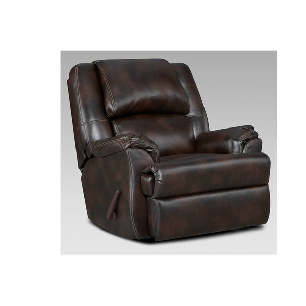Brahma Upholstered Chaise Rocker Recliner