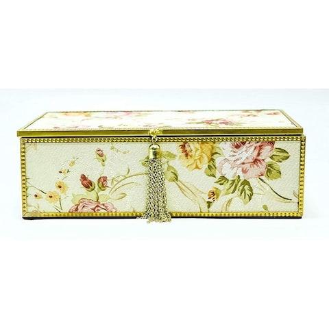 "Elegnace Mandarin Jewelry Box 5.25 x 3.5"""