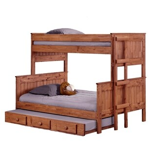 Mahogany Hill Stackable Bunk Bed with Trundle