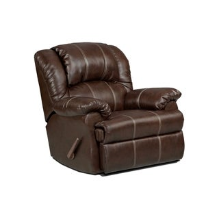 Lizabelle Brandon Brown Chaise Rocker Recliner