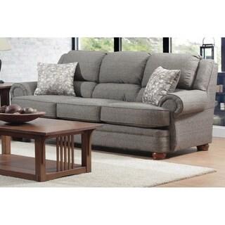 Cox Vibrant Onyx Cushion Back Sofa