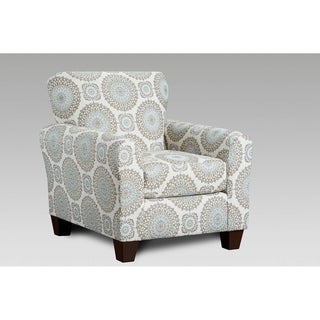 Shop Madison Park Tampa Silver Blue Multi Accent Chair