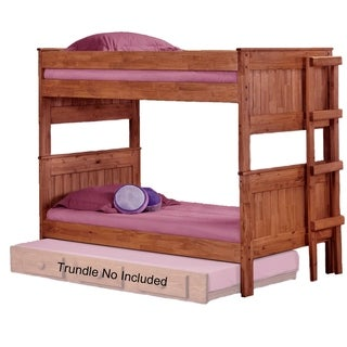 Mahogany Hill Mahogany Stain Stackable Bunk Bed