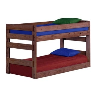 Mahogany Hill Mahogany Stain Twin over Twin Junior Bunk Bed