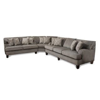 Mara Lilly Grey L-shape Sectional
