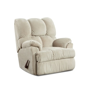 Burlington Upholstered Chaise Rocker Recliner