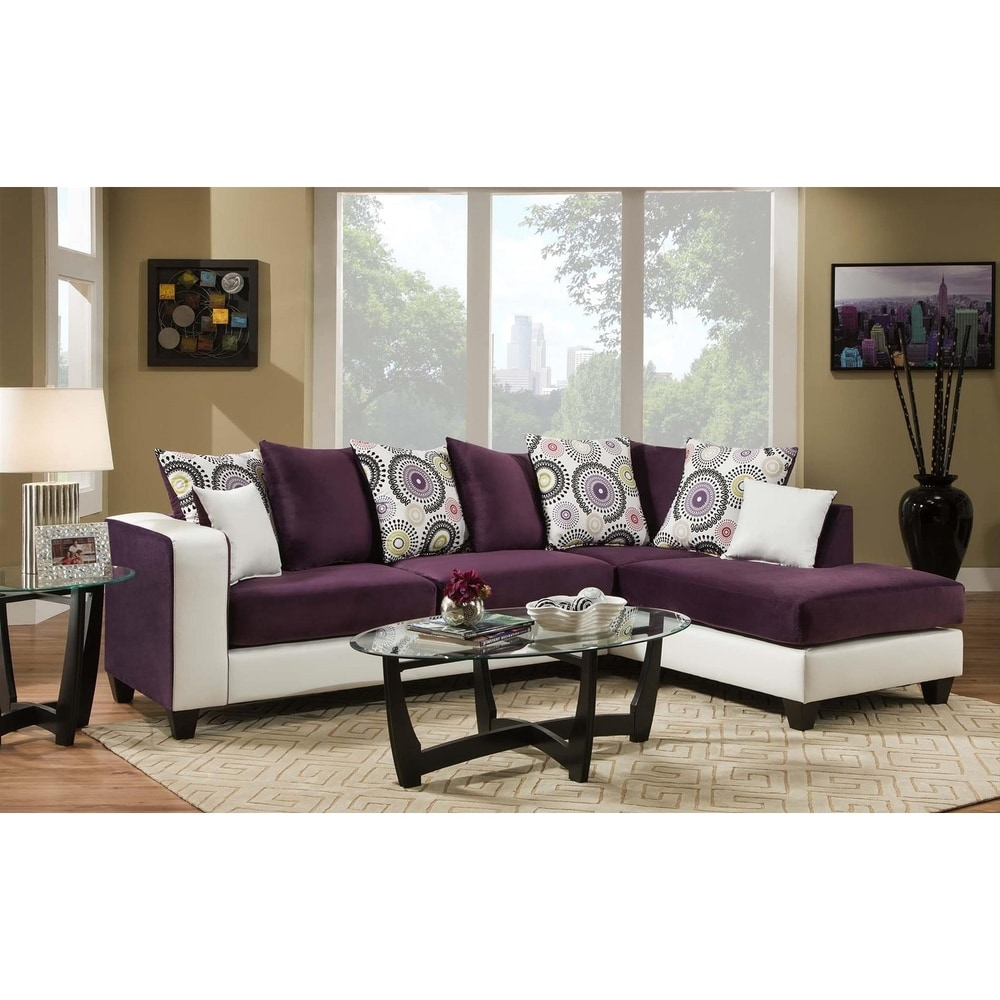 Buy Purple L Shape Sectional Sofas Online At Overstock Our Best