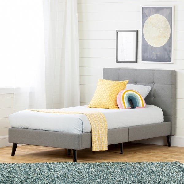 South Shore Fusion Complete Upholstered Bed