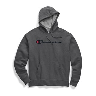Champion Men's Graphic Powerblend Fleece Pullover Hood