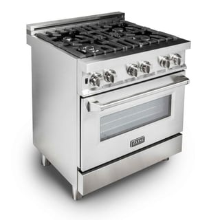 ZLINE 30 in. Professional Gas on Gas Range in Stainless Steel (RG30)