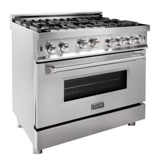 ZLINE 36-inch Stainless Steel Professional Gas on Gas Range (RG36)