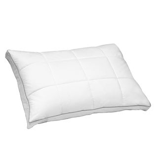 Hotel Grand Quilted White Goose Feather And Down Compartment Pillow