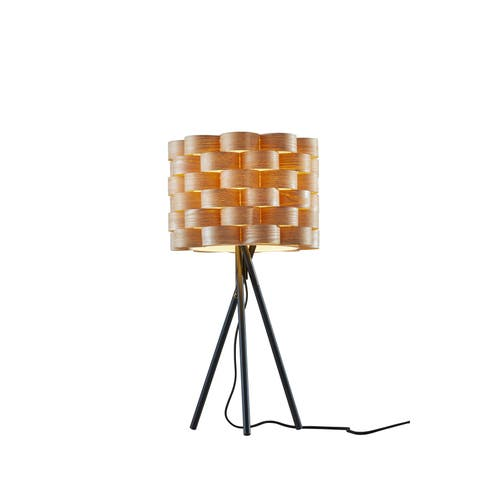 Carson Carrington Riga Matte Black Table Lamp
