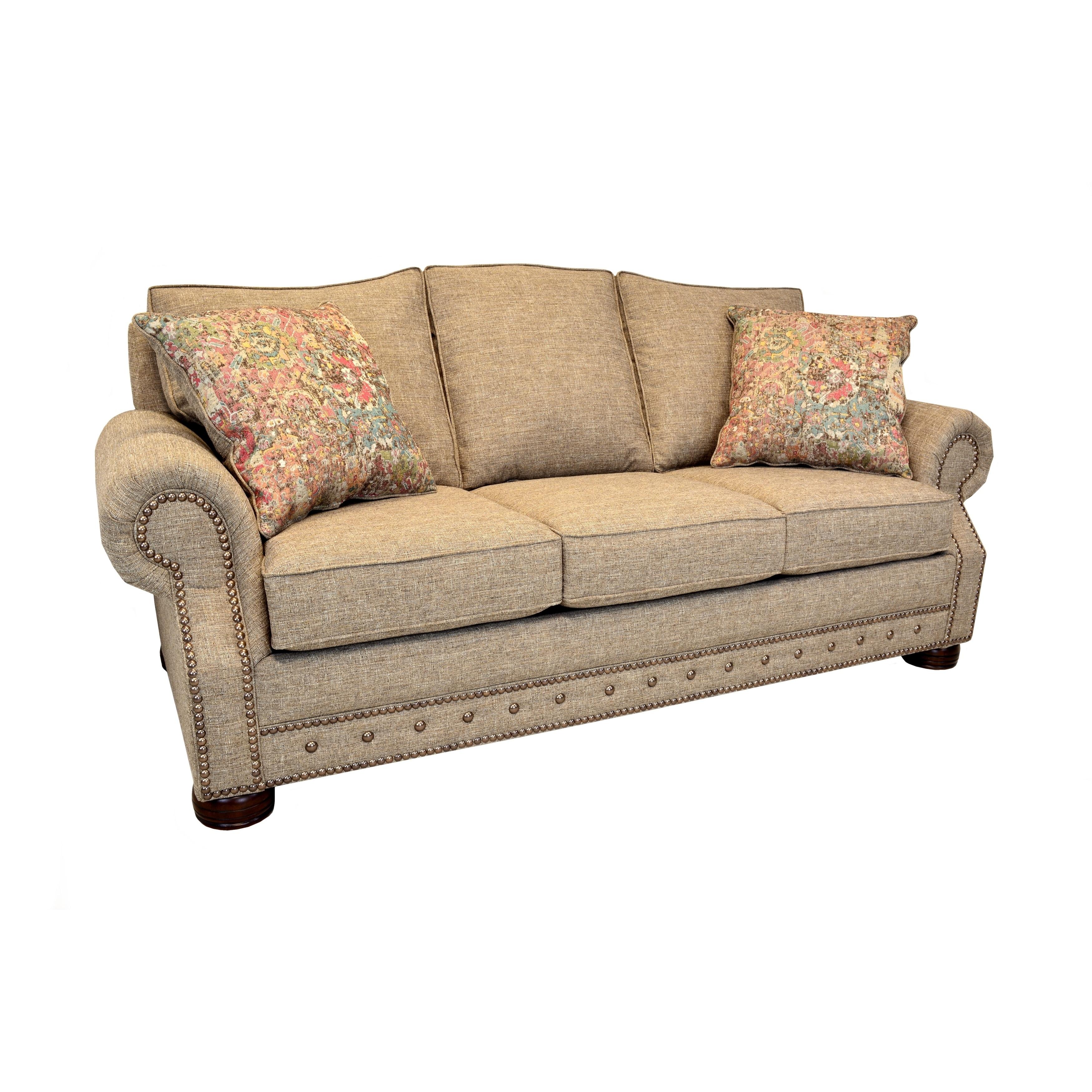 Sleeper Sofa With Nailhead Trim