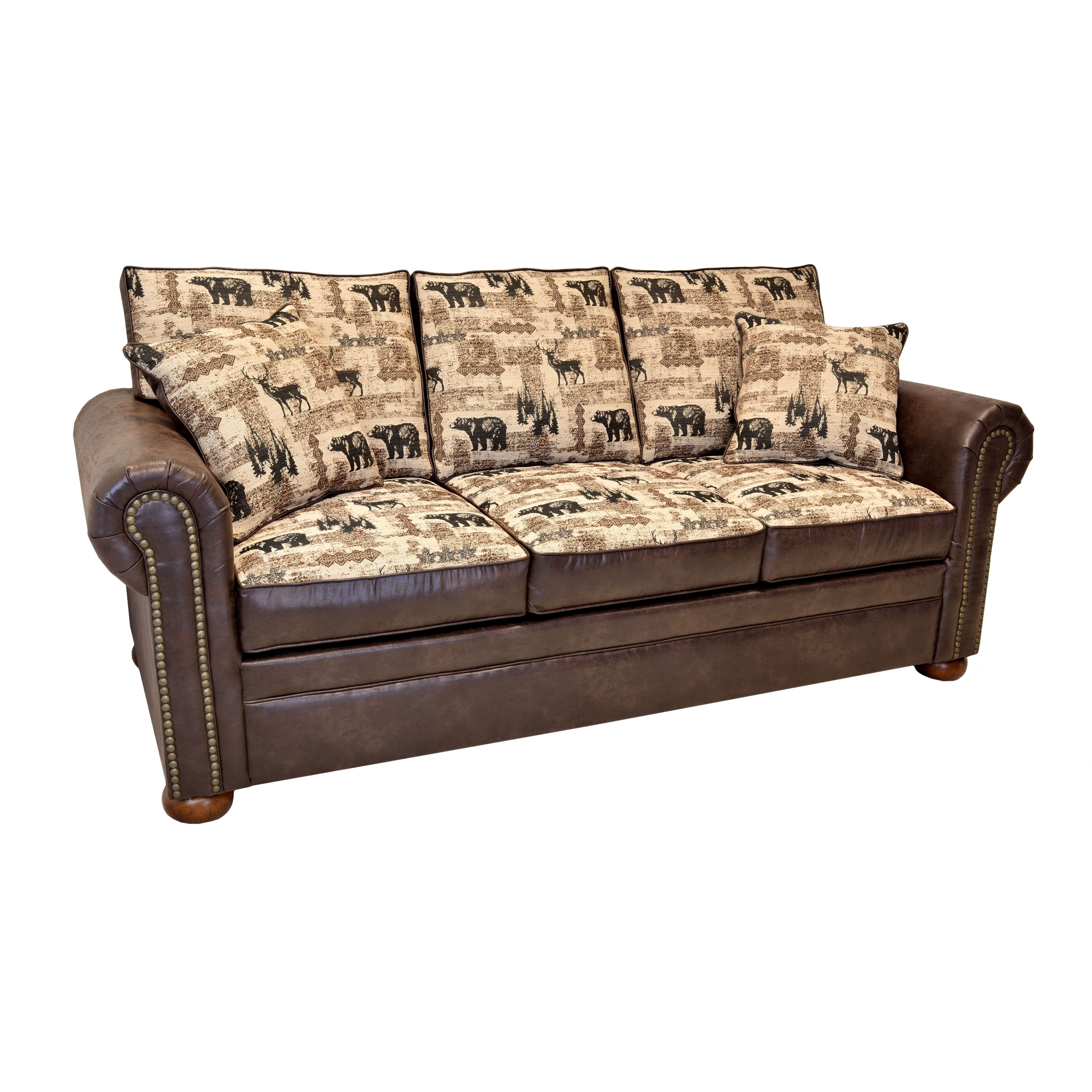 Redwood Contemporary Lodge Sleeper Sofa