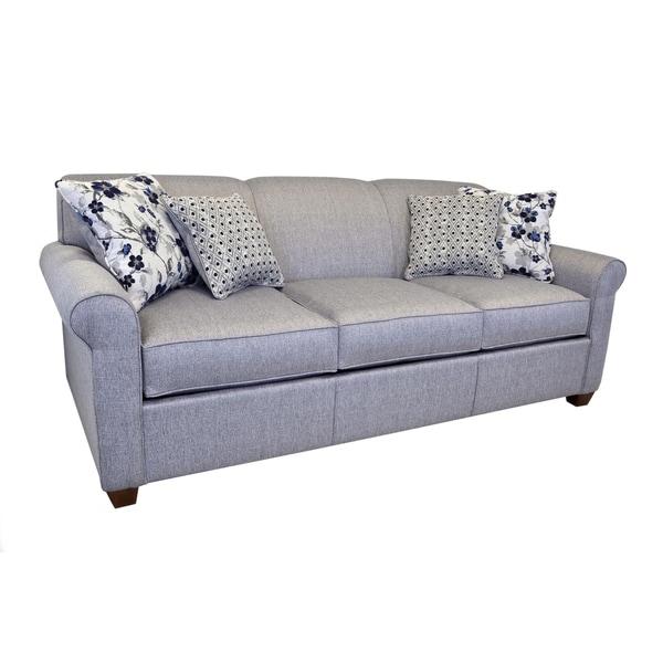 Shop Tilly Grey Fabric Queen Sleeper Sofa Innerspring