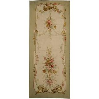Antique Aubusson  Rug, Circa 1860 - 4'3'' x 9'8''