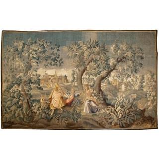 Antique Tapestry, Circa 1720 - 8'6'' x 13'2''