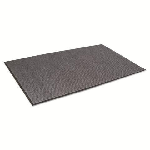 Crown Needle Rib Grey 48 x 72-inch Wipe & Scrape Mat - 48 x 72
