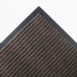 Needle Rib 48 x 72-inch Brown Wipe & Scrape Mat