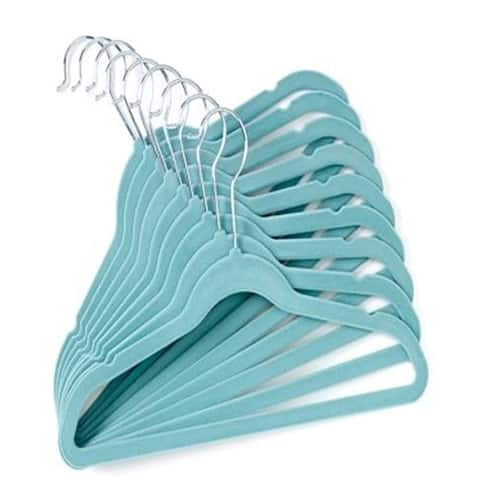 10-Pack Velvet Baby or Toddler Clothes Hangers